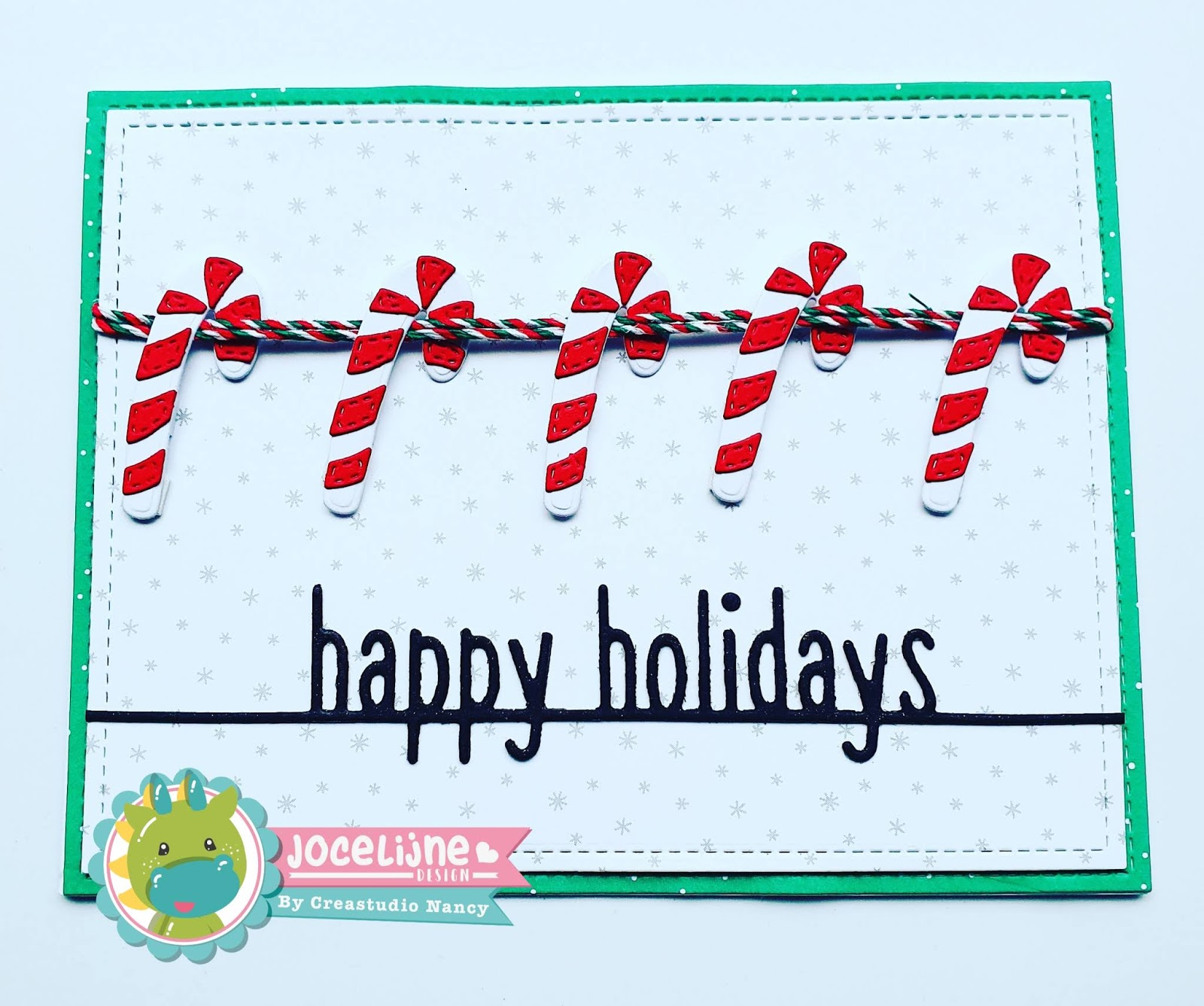Jingle ornaments candycane 6002/1330