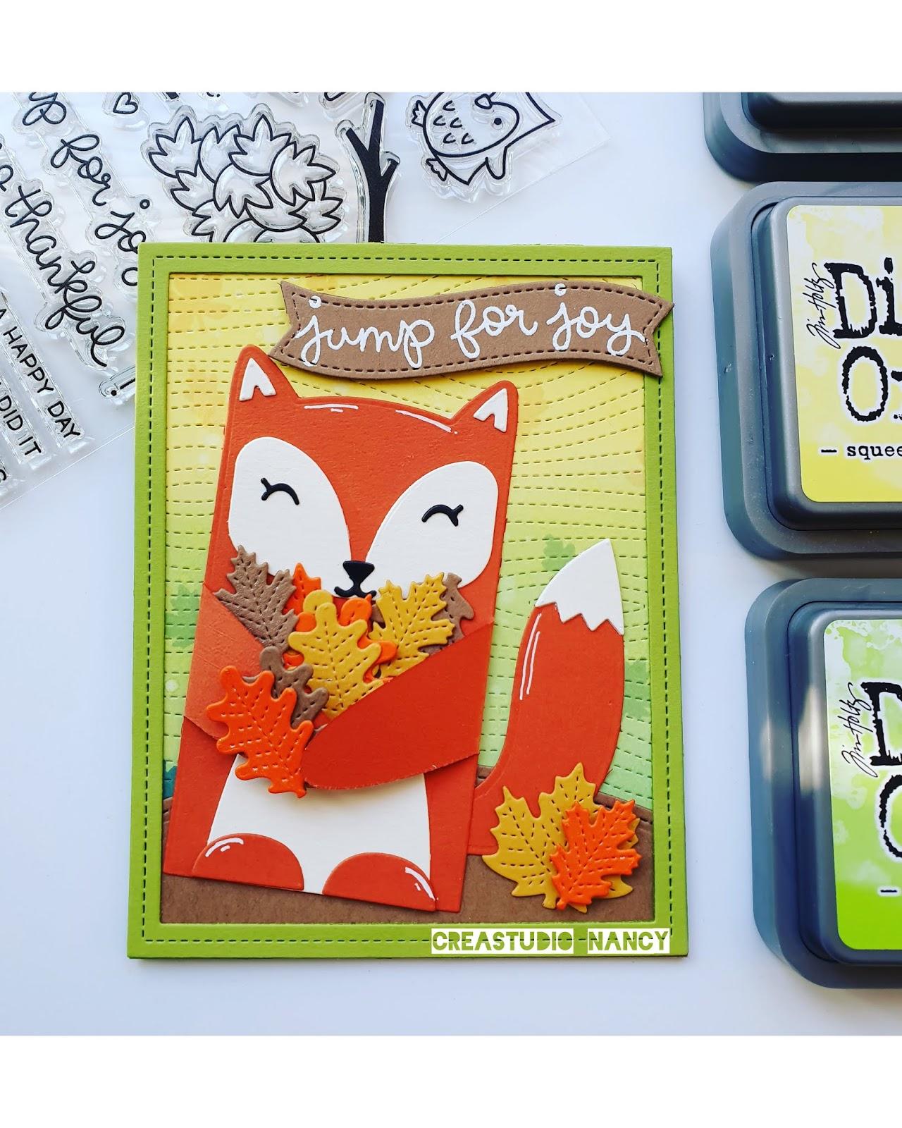 Lawn Fawn autumn Fox