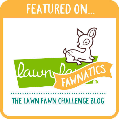 Featured at the Lawn Fawn Blog!