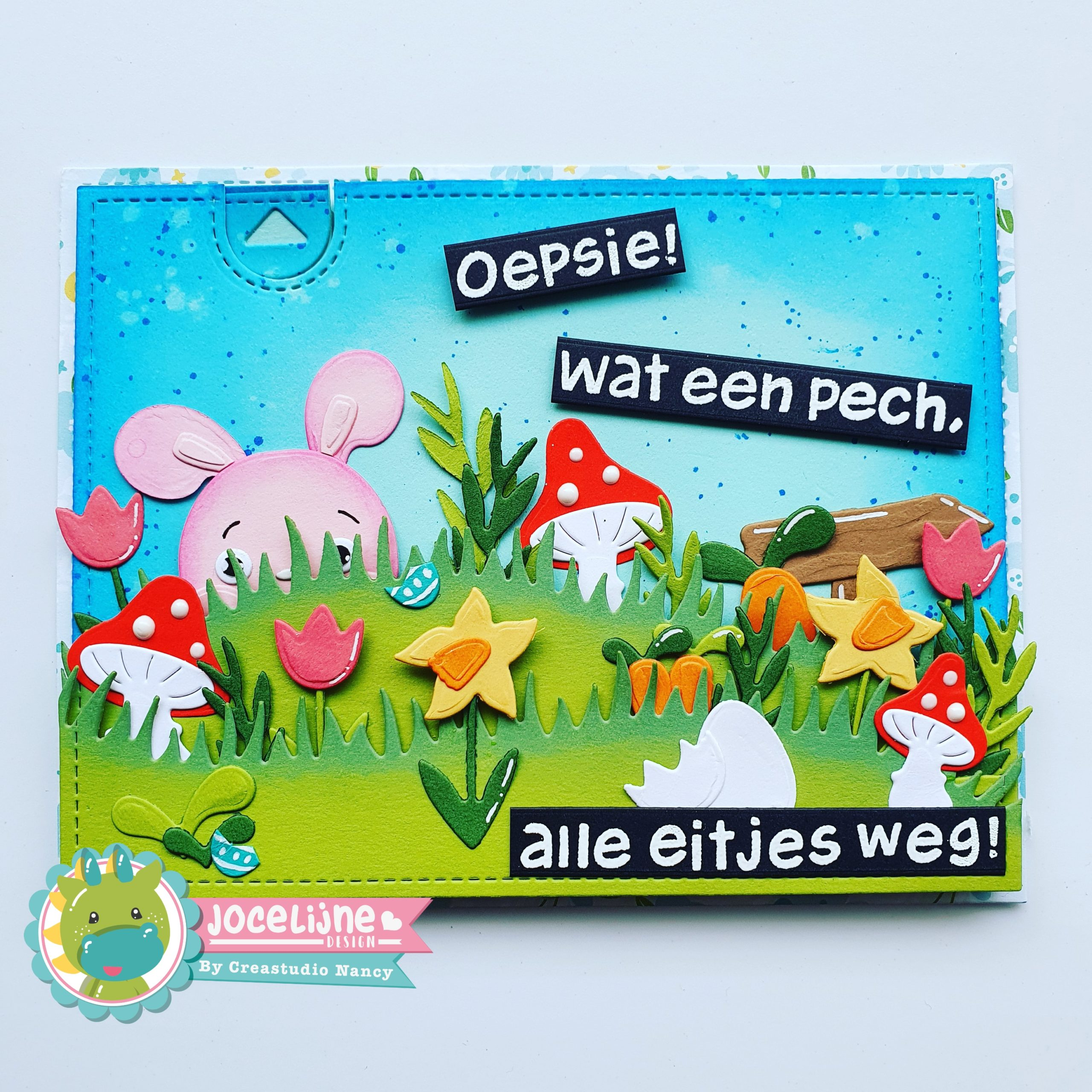 Jocelijne Design Hoppy Easter 6002/1272