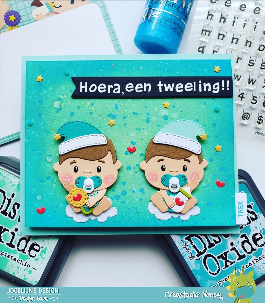 Tweeling/ Twins Giggle Baby's 6002/1450