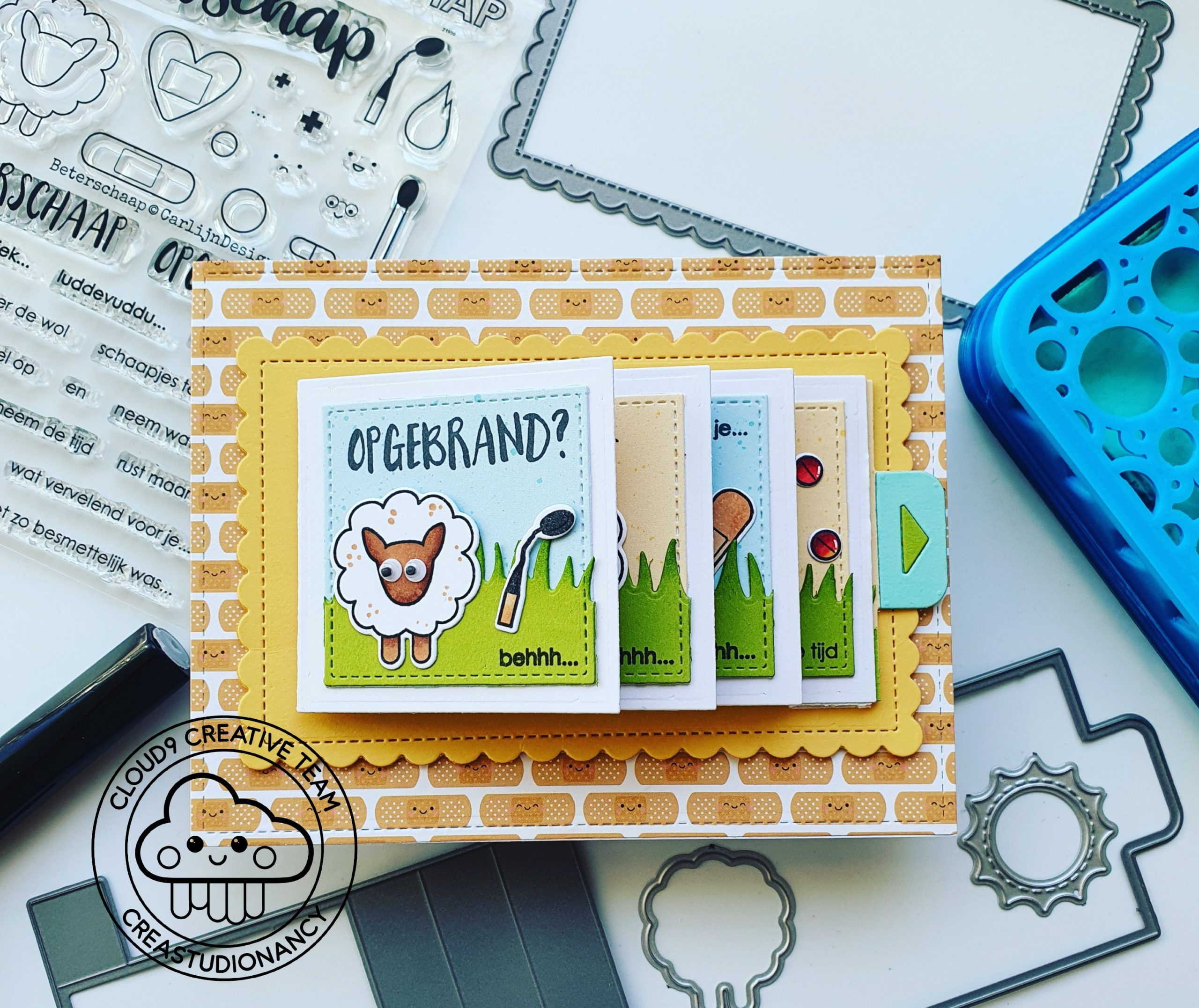 Flippin Awesome card for Cloud9 Craftsstore!