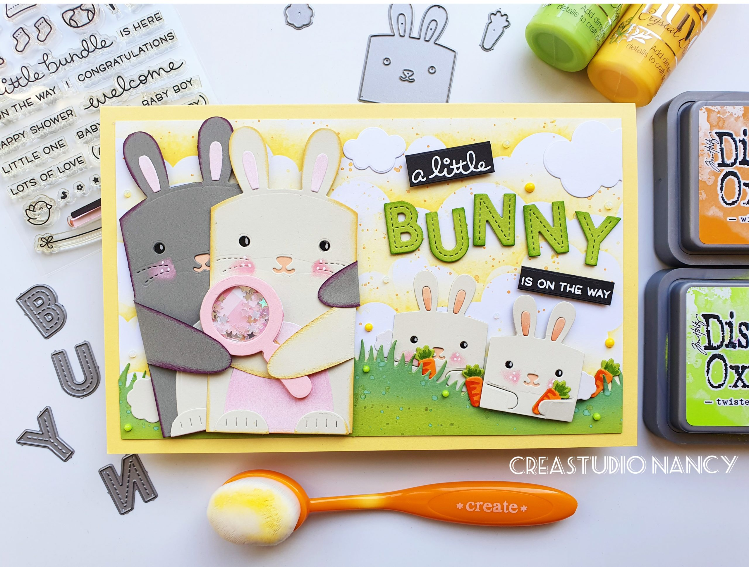 Lawn Fawn Spring Release Bunnies