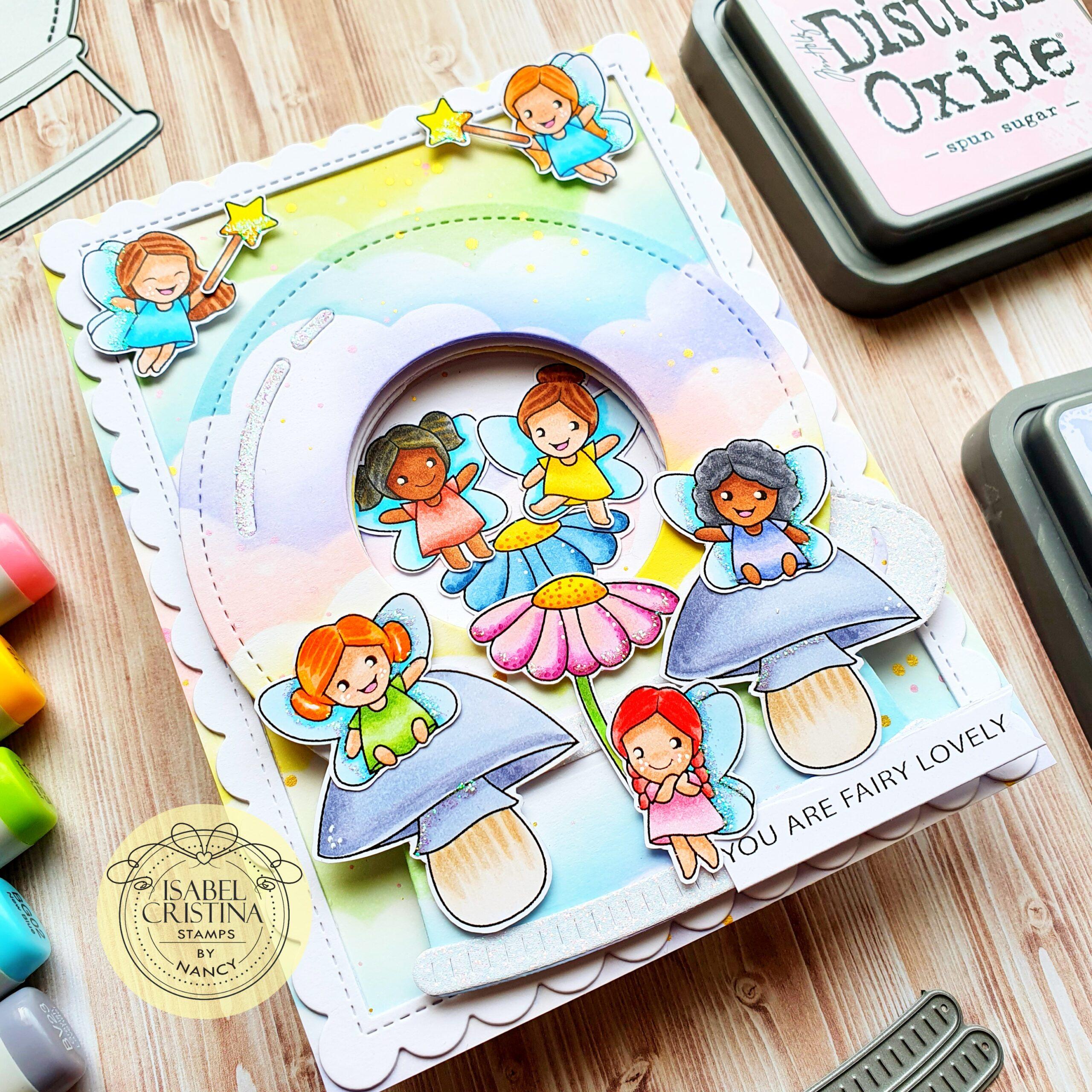 Bella Fairies- Isabel Cristina Stamps NL
